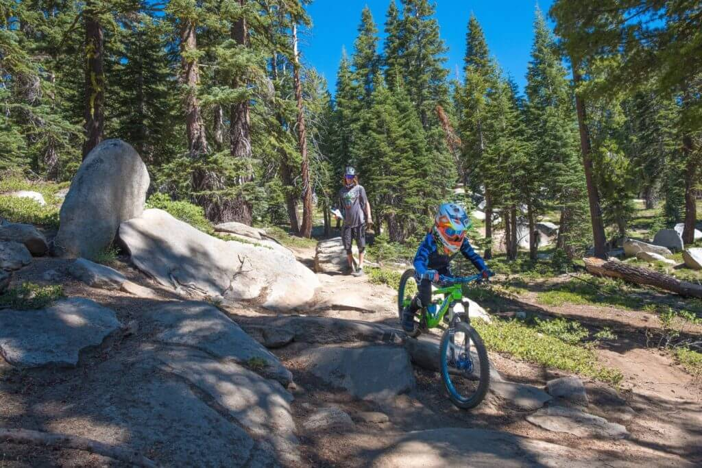 Tyrolean Downhill - One of the Best Lake Tahoe Mountain Bike Trails 2