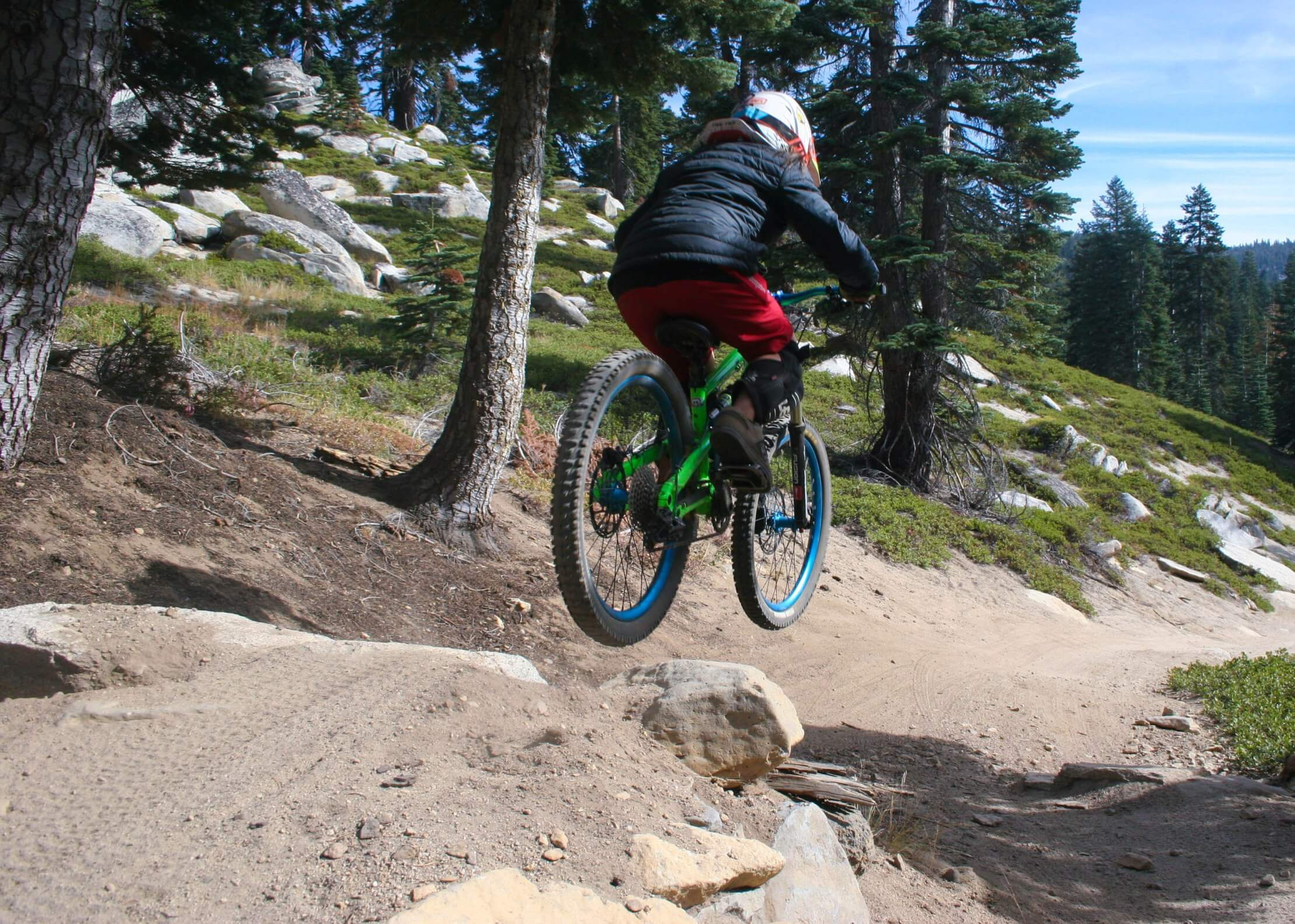 MTB Lessons For Kids Tahoe